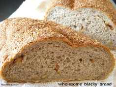 Kitchen Corner: Wholesome Blacky Bread