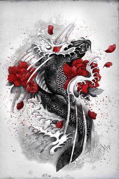 Black Koi designed by Marine Loup
