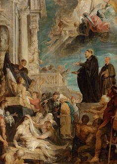 Чудо св.Франциска Ксавьера (1616-1617) (104.5 х 72.5) (Вена, Музей истории искусства). Peter Paul Rubens