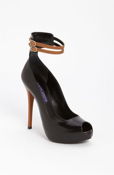 luv luv luv luv these  Ralph Lauren Collection 'Jerima' Pump available at #Nordstrom