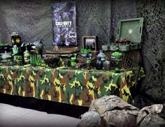 "Call of Duty Military  / Birthday ""Call of Duty"" 