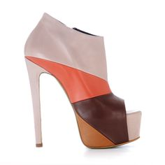 Ruthie Davis  Pre-Fall 2012   Maybrook - Tan Multi