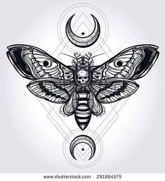 Resultado de imagen de black geometric tattoos