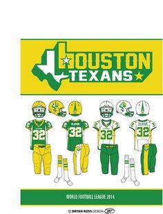 Texans Players, World Football League, Golden State Warriors Championships, Football Uniforms, Sports Logos, Professional Football, Helmets, Nfl, Alternative