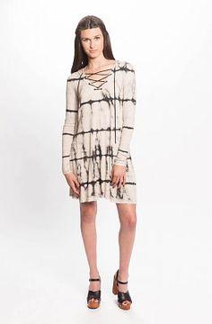 PPLA Clayton Lace-Up Dress