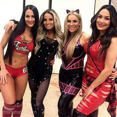 Nikki Bella, Trish Stratus, Natalya, Brie Bella