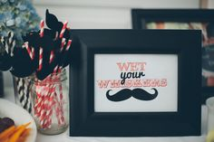 Mustache Baby Shower  |  sienna rose photography