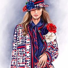 Natalia (@nata__zvonareva) • Фото и видео в Instagram Love Fashion, Fashion Art, Hair Scarf Styles, Megan Hess, Beautiful Drawings, Scarf Hairstyles, Cute Illustration, Girly, Style Inspiration