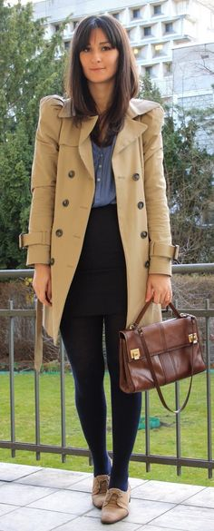 Golestaneh - Street Style: how to wear: brogues & loafers