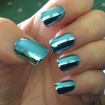 Glamour Chrome Nails Trends 2017 37