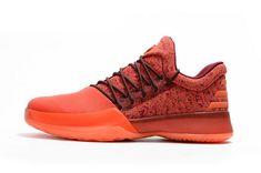 buy online 88427 b8f1d Adidas Harden Newest James Harden Bright Crimson Total Orange Hot Lava