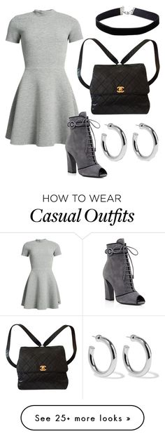 """Casual"" by coleybugwilson on Polyvore featuring Superdry, Prada, Miss Selfridge, Chanel and Sophie Buhai"