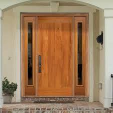 Image result for Barrington Flagstaff 1 Panel Plank Door with AvantGuard Spanish Cedar Finish