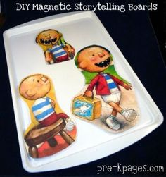 storytelling boards from @Vanessa Samurio @Pat Early-kpages.com