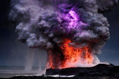 Kilauea Volcano in Hawaii, the most active in the world!