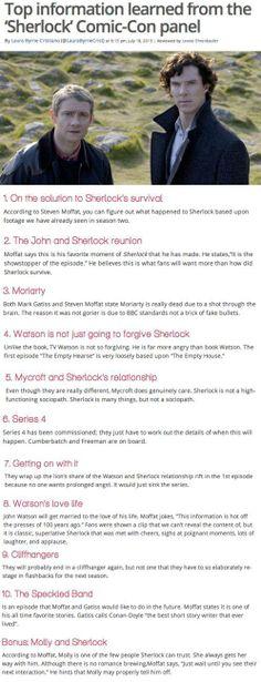 Some Sherlock Info :D