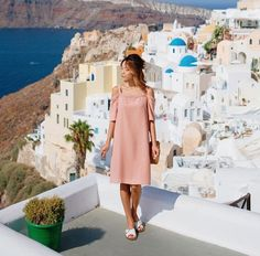 Andrea Chong, Official Dresses, Oia Santorini, Liz Claiborne, Calvin Klein, White Dress, My Style, Summer, Instagram