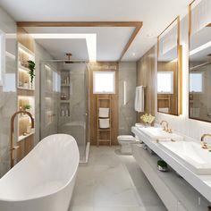 Pin by thantaswa siala on master bathroom in 2019 bathroom toilets, bathroo Diy Bathroom Decor, Modern Bathroom, Master Bathroom, Bathroom Design Luxury, Bathroom Toilets, Amazing Bathrooms, New Homes, House, Home Decor