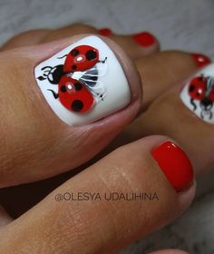 Fall Toe Nails, Pretty Toe Nails, Cute Toe Nails, Summer Toe Nails, Hot Nails, Acrylic Toe Nails, Toe Nail Art, Creative Nail Designs, Toe Nail Designs