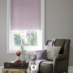 The Jasmine Mulberry Roller Blind