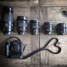 Fujifilm XT-1 and lenses #fuji #photography