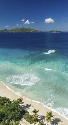 Tortola, British Virgin Islands | The largest of the British Virgin Islands, Tortola is known for its pristine white-sand beaches. Dive in to see Alice in Wonderland, an exquisite rainbow coral wall off the coast.