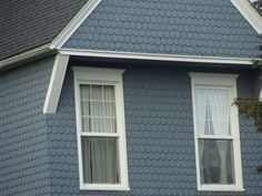This slate blue Victorian House color is also very pretty