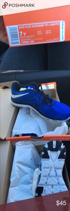 Nike flex TR 4 Brand new never been used. Nike Shoes Athletic Shoes