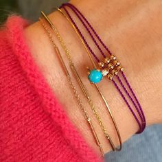 Layers of and one beautiful turquoise Bangles, Gold Bracelets, Stay Gold, Hand Jewelry, Layers, Turquoise, Sparkles, Rings, Instagram Posts