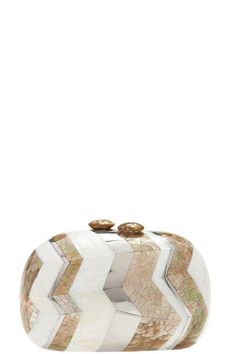 nice clutch -- Abeline Mother of Pearl Clutch -- Handmade by Calypso St. Barth