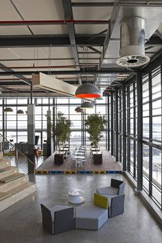 Top Modern Office Design Trends – My Life Spot Office Space Design, Workplace Design, Office Interior Design, Office Designs, Lofts, Architecture Durable, Interior Architecture, Corporate Interiors, Office Interiors