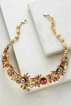 Elizabeth Cole Tille Collar Necklace #anthrofave