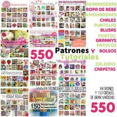 Colección de colecciones: 550 patrones de puntos, y varios tejidos al crochet Crochet Book Cover, Crochet Books, Crochet Cord, Filet Crochet, Crochet Stitches Chart, Crochet Patterns, Crochet 101 Learning, Grannies Crochet, Knitting Magazine