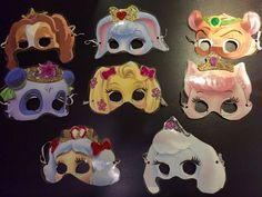 Palace Pet Party Masks