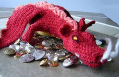 2000 Free Amigurumi Patterns: Crochet Dragon - Smaug from The Hobbit