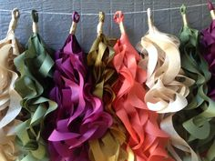 Fall Curly Tassel Garland for parties or events that transition to home decor with ease.