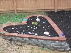 Rock Garden In Memory Of Our Daughter (died At 5 Months Of Age).
