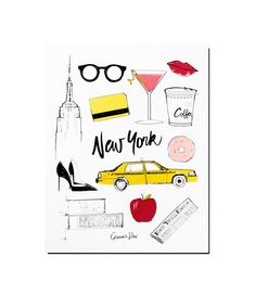 Garance Doré Boutique - New York Poster
