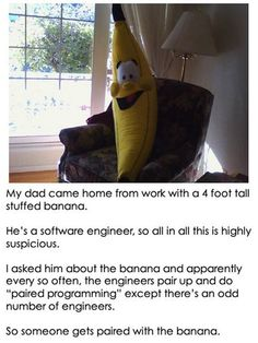 The mysterious banana