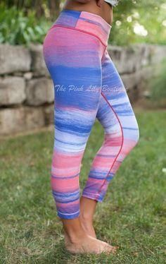 adac81a9f54b3 The Pink Lily Boutiq The Pink Lily Boutique - Sunset Workout Capris, $40.00  ( thepinklilyboutiq