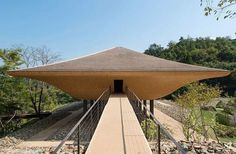A well-contoured art pavilion is built to remind a historical tragedy in Hiroshima #Japan. Read the full article about design and see fascinating images on @wacommunity News #architecture #design #art #pavilion - Architecture and Home Decor - Bedroom - Bathroom - Kitchen And Living Room Interior Design Decorating Ideas - #architecture #design #interiordesign #homedesign #architect #architectural #homedecor #realestate #contemporaryart #inspiration #creative #decor #decoration