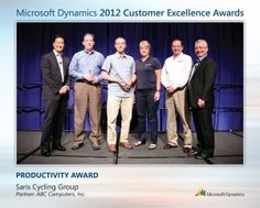 Saris Cycling Group Receives Microsoft Customer Excellence Award for Achievements in Productivity Using Microsoft Dynamics NAV