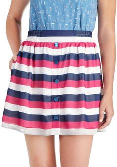 ModCloth - Freesia Fields Skirt