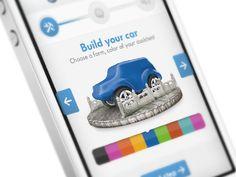 Dribbble - Car App in Progress by Hugo Albönete Interface Design, User Interface, Mobile Design, App Design, Mobile Watch, Car App, Mobile Marketing, Mobile Ui, Web Design Inspiration