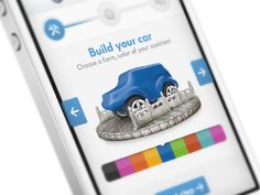 Dribbble - Car App in Progress by Hugo Albönete