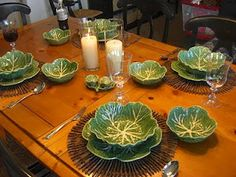 Bordalo Pinheiro - Cabbage dishes.
