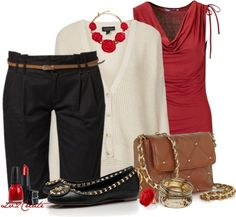 """""""Bermuda Shorts 3"""" by lv2create on Polyvore"""