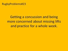 Too true, but be smart about head injuries! Contact MI Neurosport if concussed to participate in a study about them!