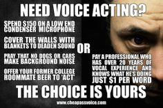 VOICE ACTING TIPS! By Voice Actor John Dick!