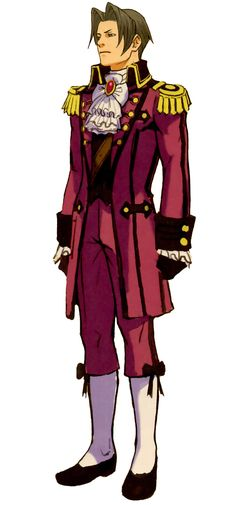 Miles Edgeworth | Professor Layton vs. Phoenix Wright: Ace Attorney